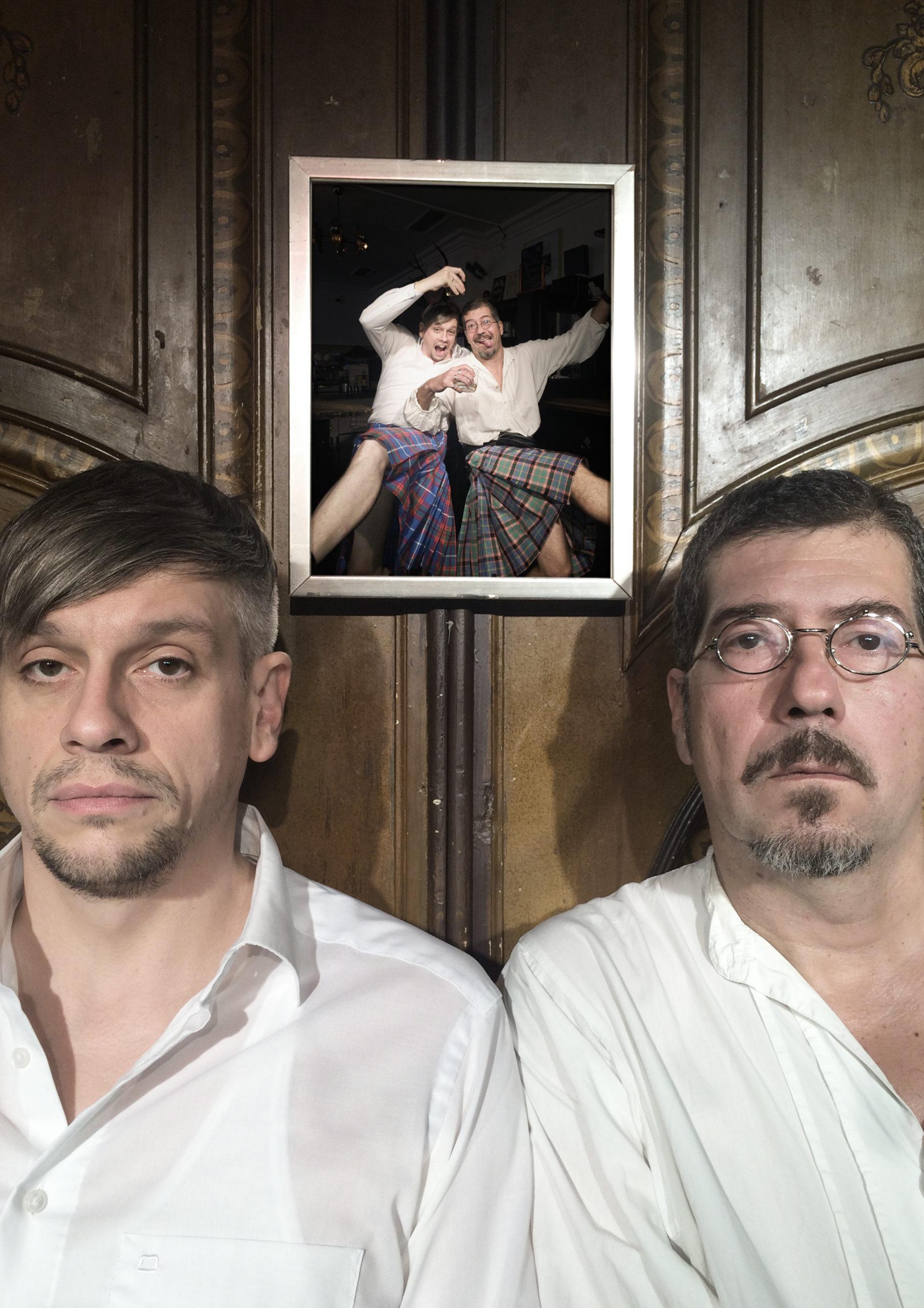 """Mathias Tretter und Sven Kemmler:<br>""""Schottenabend – Zwei Stunden mit nichts drunter"""""""