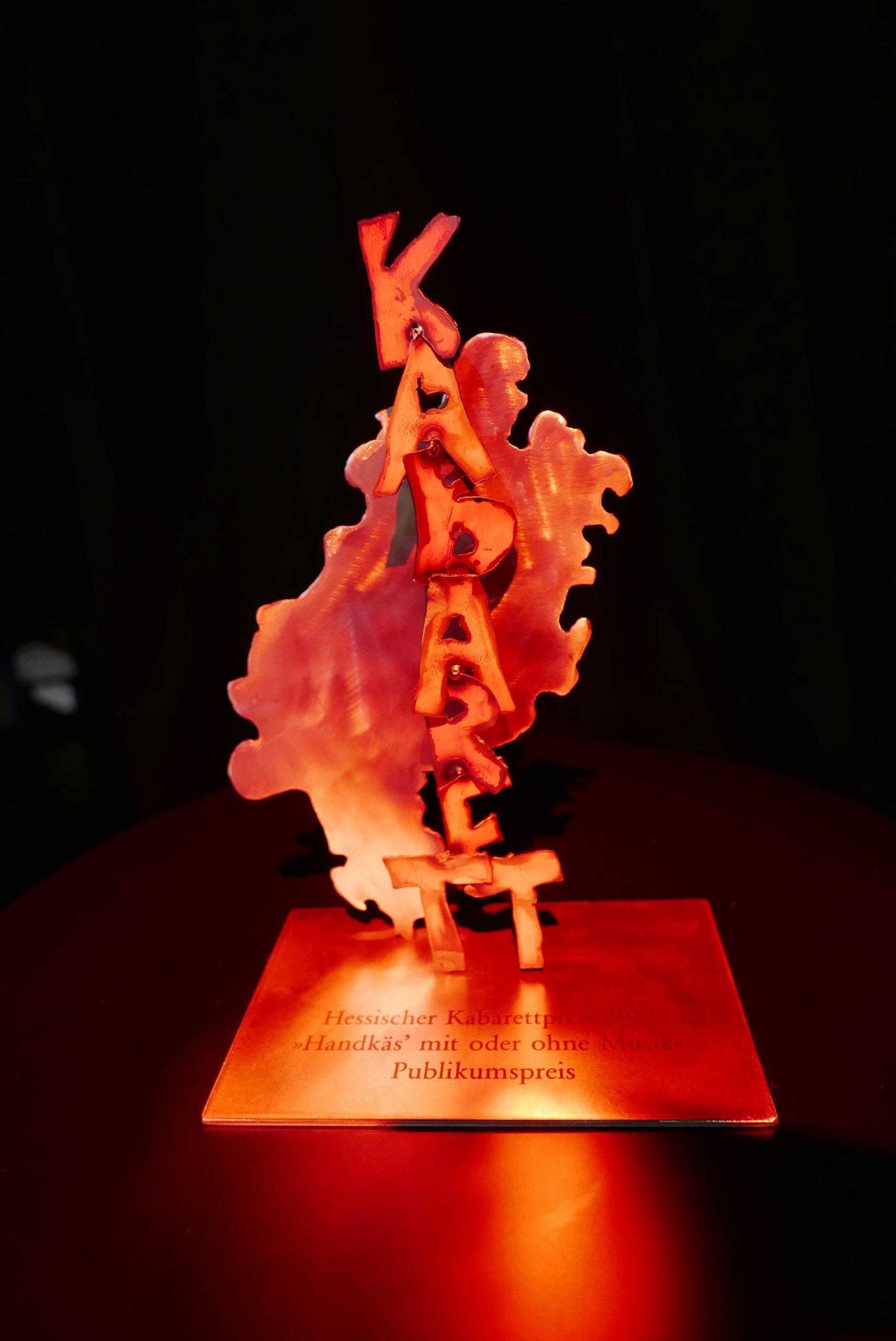 Gala zum Hessischen Kabarettpreis 2020 muss verschoben werden